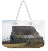 Rusted Barn Weekender Tote Bag