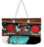 Rusted Blue Taillight Weekender Tote Bag