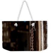 Rusted Chain Lock - Color Weekender Tote Bag