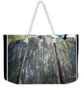 Rustic Boards Weekender Tote Bag