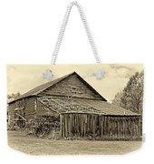 Rustic Charm Sepia Weekender Tote Bag