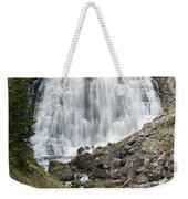 Rustic Falls Yellowstone Weekender Tote Bag