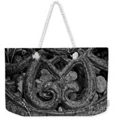 Rustic Iron Weekender Tote Bag
