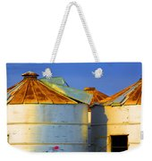 Rustic On The Blue Weekender Tote Bag