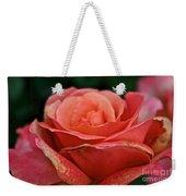 Rustic Rose Weekender Tote Bag