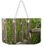Rustic Seating Weekender Tote Bag