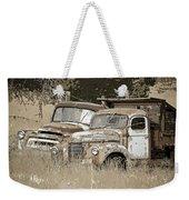 Rustic Trucks Weekender Tote Bag