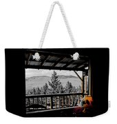 Rustic View Of The Great Outdoors Weekender Tote Bag