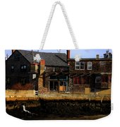 Rustic Waterfront Weekender Tote Bag