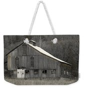 Rustic Weathered Mountainside Cupola Barn Weekender Tote Bag