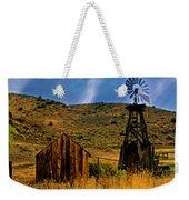 Rustic Windmill Weekender Tote Bag