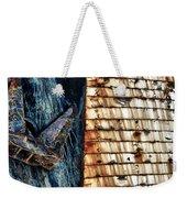 Rusting Boat Anchor Weekender Tote Bag