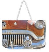Rusty Abandoned Old Buick Eight Weekender Tote Bag