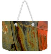 Rusty Abstract Weekender Tote Bag