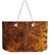 Rusty Background Weekender Tote Bag