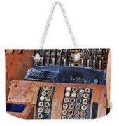 Rusty Cash Register Weekender Tote Bag