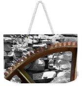 Rusty Cog Weekender Tote Bag