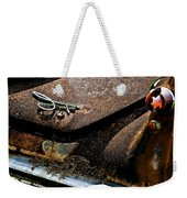 Rusty Impe Weekender Tote Bag by DigiArt Diaries by Vicky B Fuller