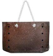 Rusty Iron Weekender Tote Bag