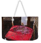 Rusty Metal Chair Weekender Tote Bag