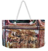 Rusty Truck Door Weekender Tote Bag
