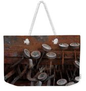 Rusty Typewriter Weekender Tote Bag