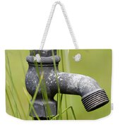 Rusty Water Supply Point Weekender Tote Bag