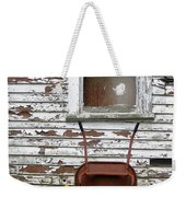Rusty Wheelbarrow And Wildflowers Weekender Tote Bag