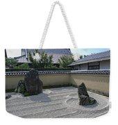 Ryogen-in Raked Gravel Garden - Kyoto Japan Weekender Tote Bag