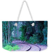S Curve In The Forest Weekender Tote Bag