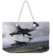 Saab 105 Jet Trainers Of The Swedish Weekender Tote Bag