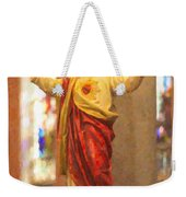 Sacred Heart Of Jesus Weekender Tote Bag