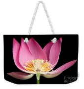 Sacred Lotus Nelumbo Nucifera Weekender Tote Bag