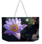 Sacred Lotus Weekender Tote Bag