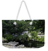 Sacred Well Weekender Tote Bag