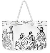 Sacrifice Of Iphigenia Weekender Tote Bag