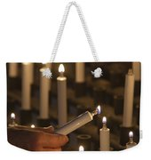 Sacrificial Candles 3 Weekender Tote Bag