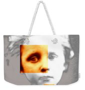 Sad Boy Weekender Tote Bag