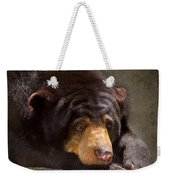 Sad Sun Bear Weekender Tote Bag