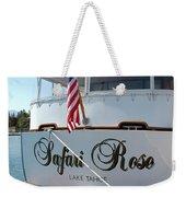Safari Rose Lake Tahoe Weekender Tote Bag