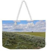Sagebrush And Buffalo Weekender Tote Bag