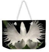Sagi-so Or Crane Orchid Weekender Tote Bag
