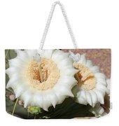 Saguaro Cactus Flowers Weekender Tote Bag