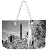 Saguaro Skeleton Bw Weekender Tote Bag