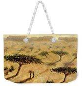 Sahelian Landscape Weekender Tote Bag by Tilly Willis
