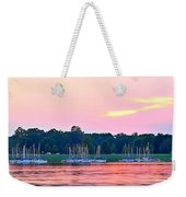 Sail Boats Pretty In Pink  Weekender Tote Bag