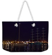 Sailboat And Maltese Hawk Weekender Tote Bag