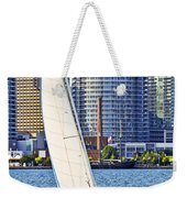 Sailboat In Toronto Harbor Weekender Tote Bag