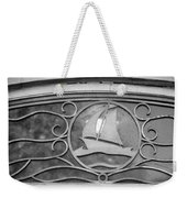 Sailboat On The Boathouse Weekender Tote Bag