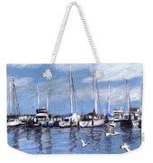 Sailboats And Seagulls Weekender Tote Bag